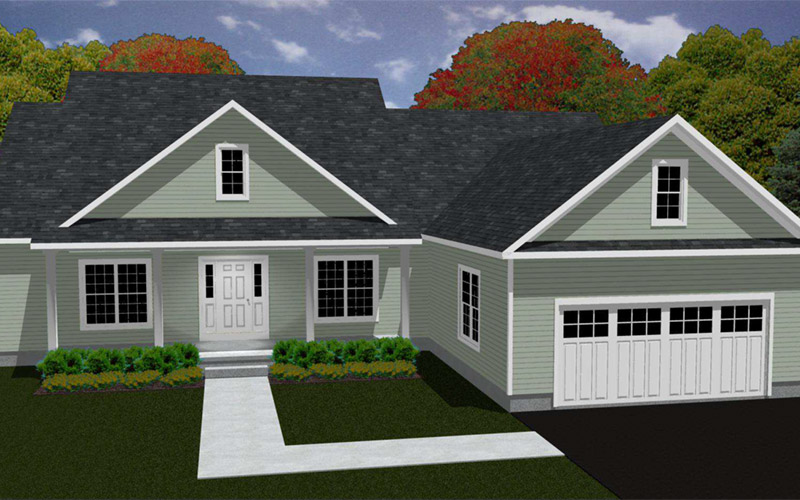 Rolling Meadows - The Maxwell home