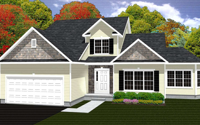 Rolling Meadows - The Newport home