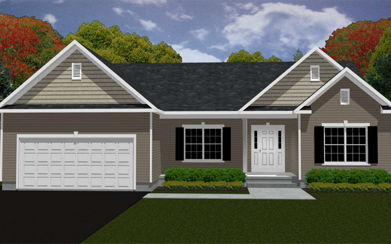 Rolling Meadows - The Richmond home