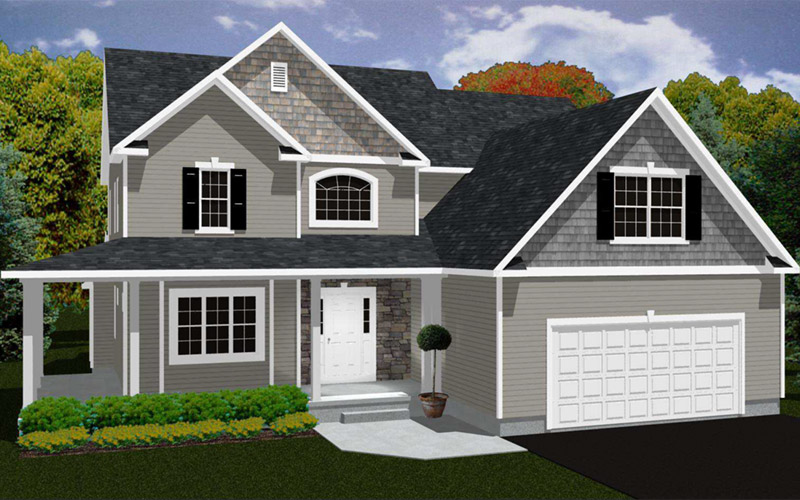 Rolling Meadows - The Rockport home
