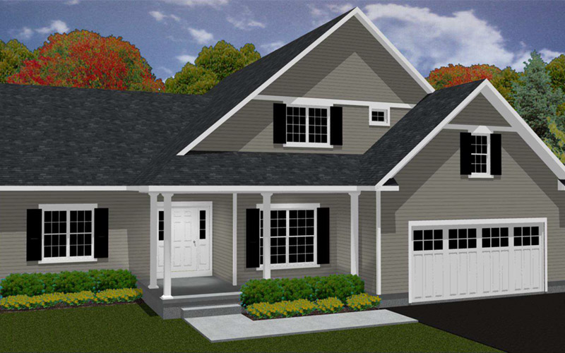 Rolling Meadows - The Summerfield home