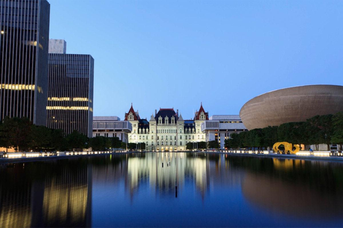 Albany NY Capital building