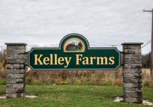 Kelley Farms exterior sign