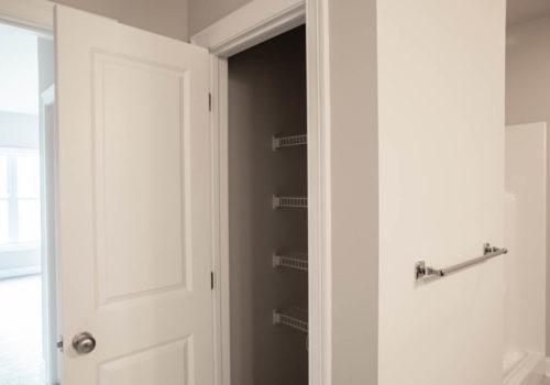 Kelley Farms Model 1 bathroom closet