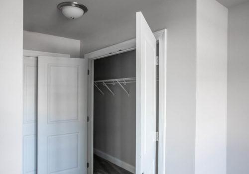 Kelley Farms Model 1 bedroom closet