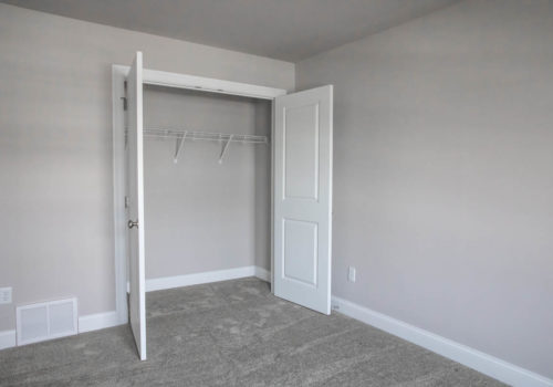 Kelley Farms Model 2 bedroom closet