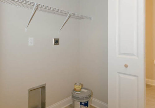 Rolling Meadows laundry closet