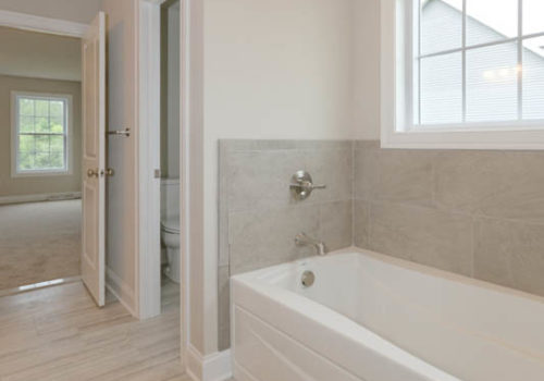 Rolling Meadows master bathroom
